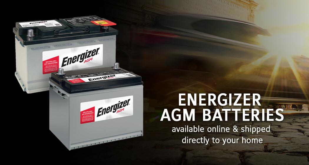 Energizer AGM Batteries