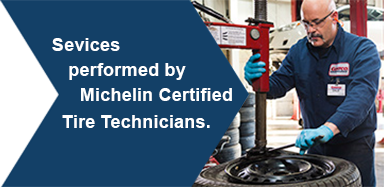 Costco member advantage - $15 per installation performed by Michelin certified techinician