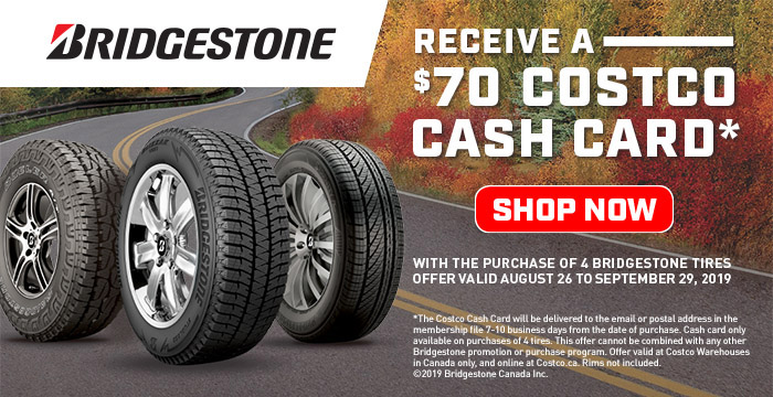 Costco ca: Shop for Tires