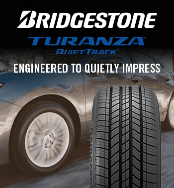 Bridgestone Turanza Quiet Track Engineered to quality Impress