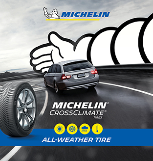Michelin. Cross Climent. All-Weather Tire.
