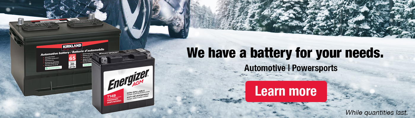 We have a battery for your needs. Automotive,Power sports.