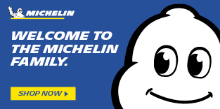 Welcome to the Michelin Family. Shop Now