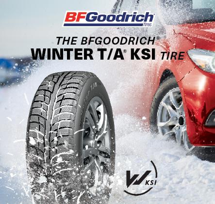 The BFGoodrich winter T/A ksi Tire.