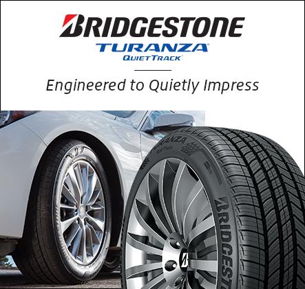 Bridgestone Turanza Quiettrack. Engineered to quietly impress.