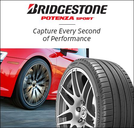 Bridgestone Potenza sport. Capture every second of performance.