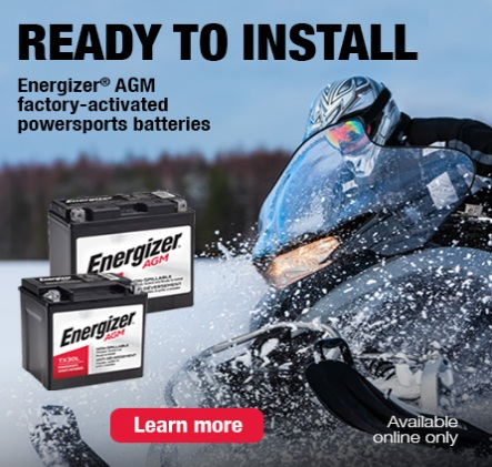 Ready to Install. Energizer AGM
