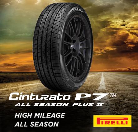Pirelli, Cinturato P7. All season plus 2. High mileage, All season.