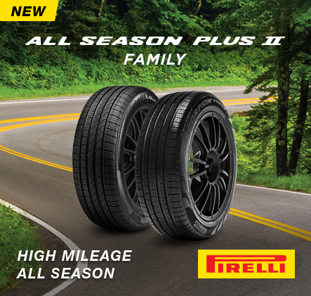 New Pirelli All Season Plus 2 family. High Mileage. All Season.