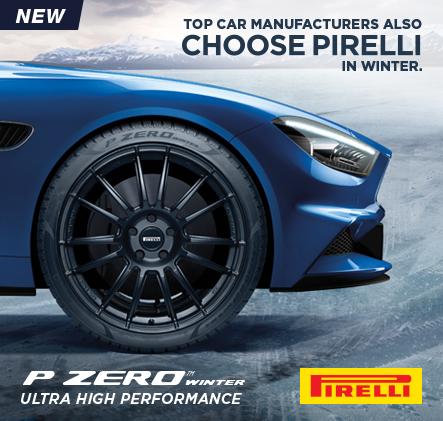 Top Car Manufacturers Also Choose Pirelli In winter.