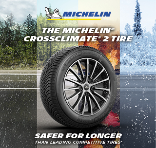 The Michein CrossLimit 2 Tire. Safe for longer than leading Competitive Tires*