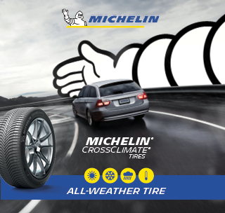 Michelin Crossclimate tires, all weather tire.