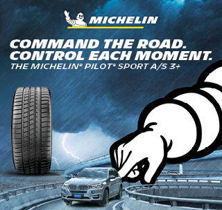 Michelin Tire sport A/S 3+, command the road control each moment.
