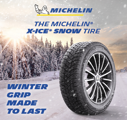 The Michelin x-ice snow tire. Winter grip made to last.