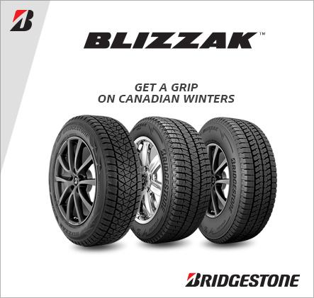 Bridgestone Blizzak, Get a Grip on Canadian winters.