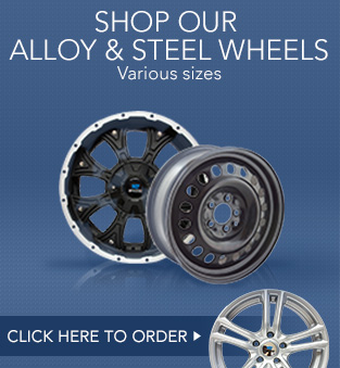 shop our alloy and steel wheels various size. Click here to order