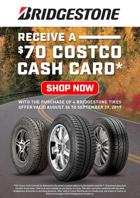 Costco ca: Shop for Tires