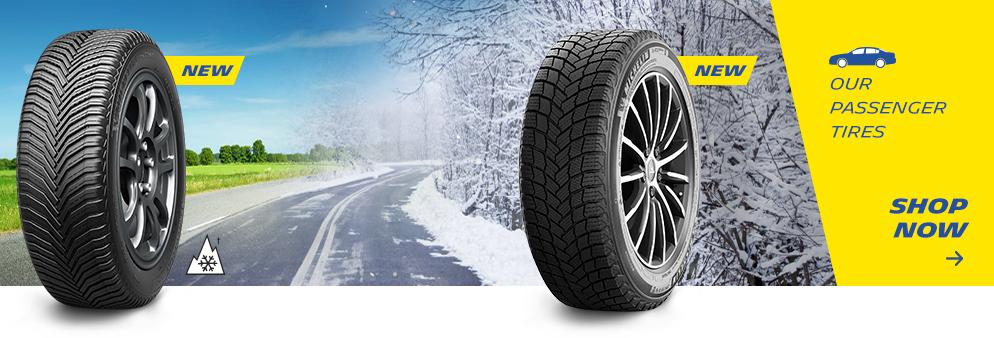 Our passenger tires shop now, Opens a dialog.