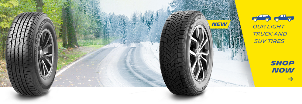 Our light truck and suv tires shop now, Opens a dialog.