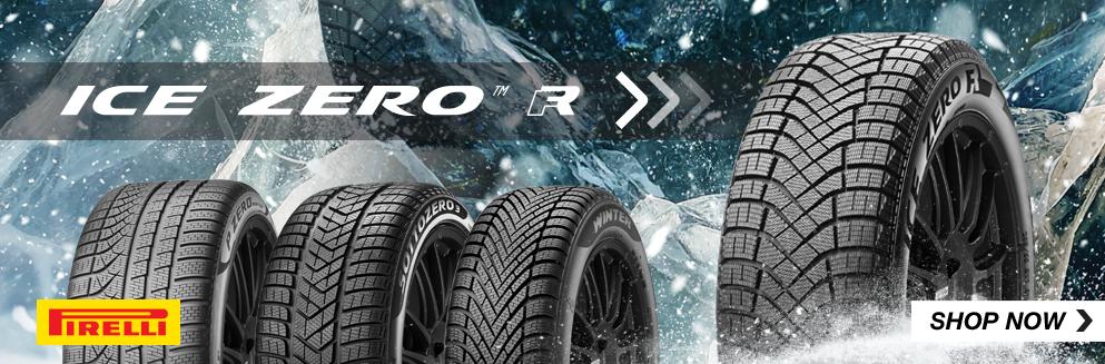Pirelli Ice zero FR tires. Shop Now, Opens a Dialog