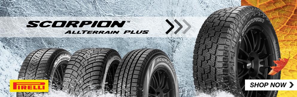 Pirelli Scorpion all terrain plus tires. Shop Now, Opens a Dialog