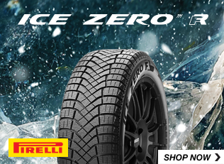 Pirelli Ice zero FR tires. Shop Now.