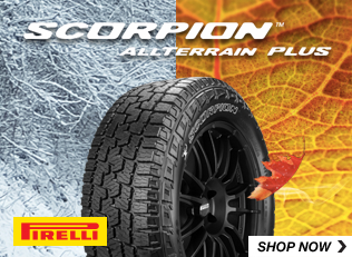Pirelli Scorpion all terrain plus tires. Shop Now.