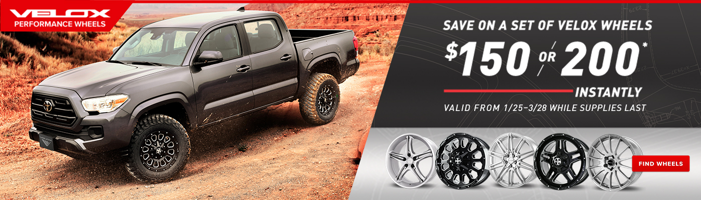 Save On a set of 4 wheels