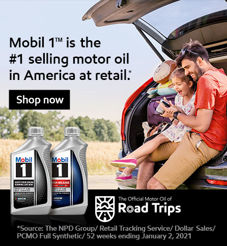 Mobil 1 is the #1 selling motor oil in America at retail. shop now.