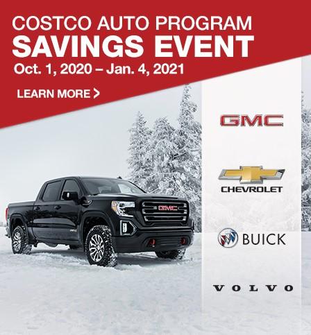 Costco Auto Program Savings Event.