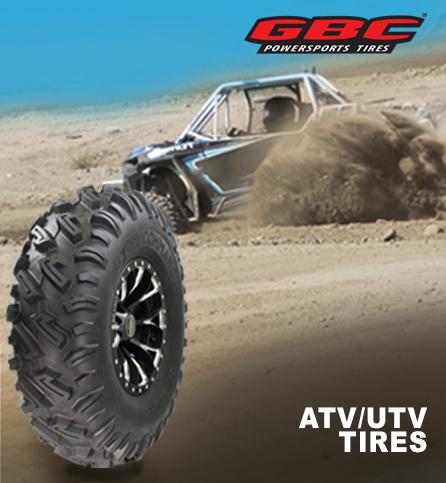 GBC motorsports. ATV/UTV tires