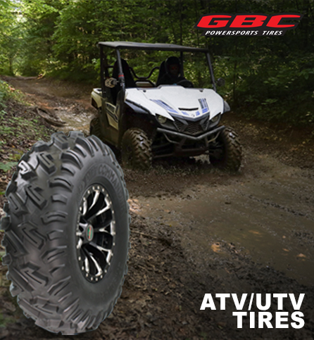 GBC Powersports. ATV/UTV tires