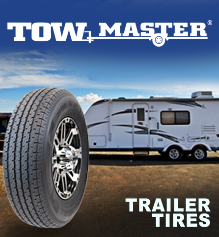 TOW master. Trailer tires