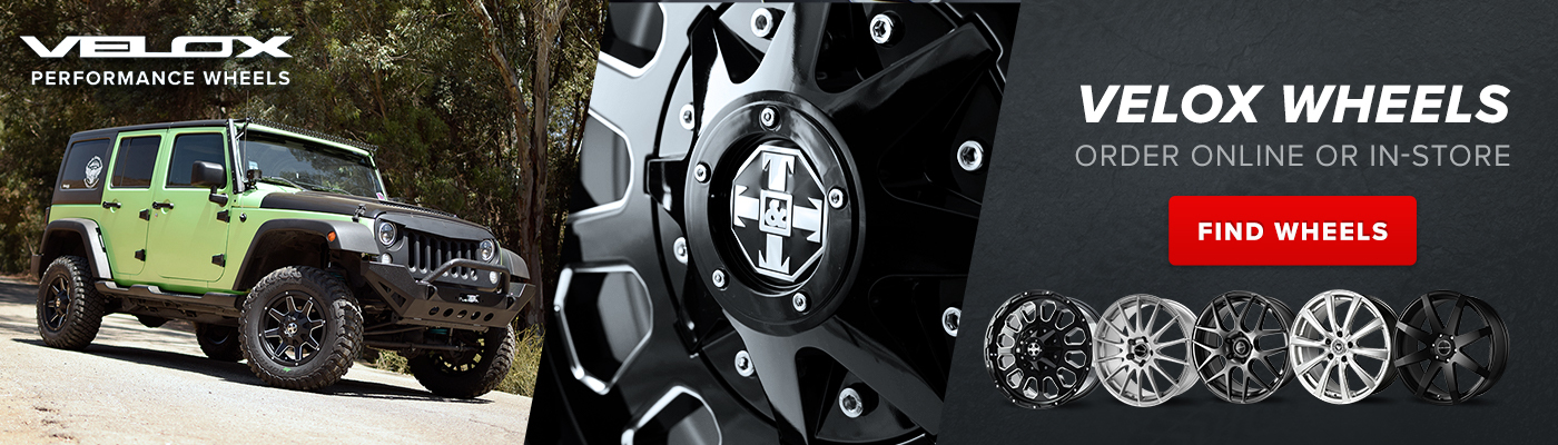 Velox Performance Wheels Order online or in-store, Find Wheels, Opens a Dialog