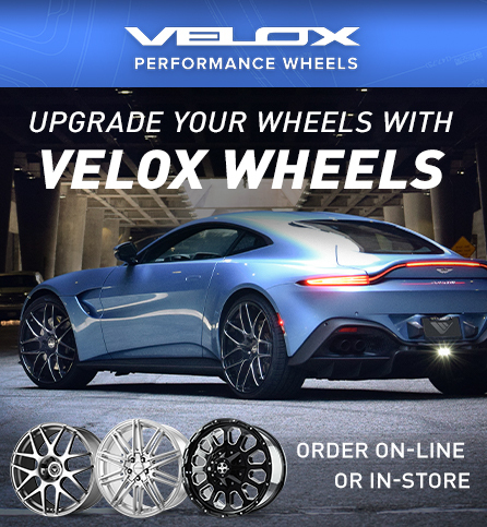 Velox performance wheels, Opens a dialog.