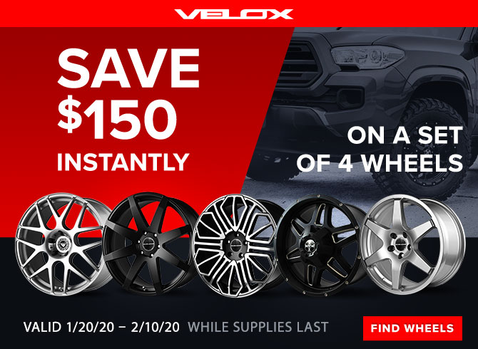 VELOX, Performance Wheels.